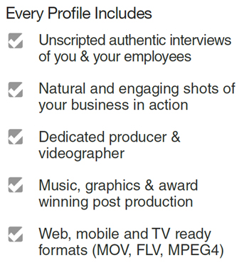 Video Profile Details