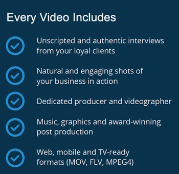 Video Testimonial Details