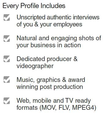 Video Profile Details